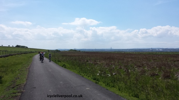 Deeside Burton Cycle Route